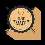 badge hand made