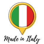 badge made in italy